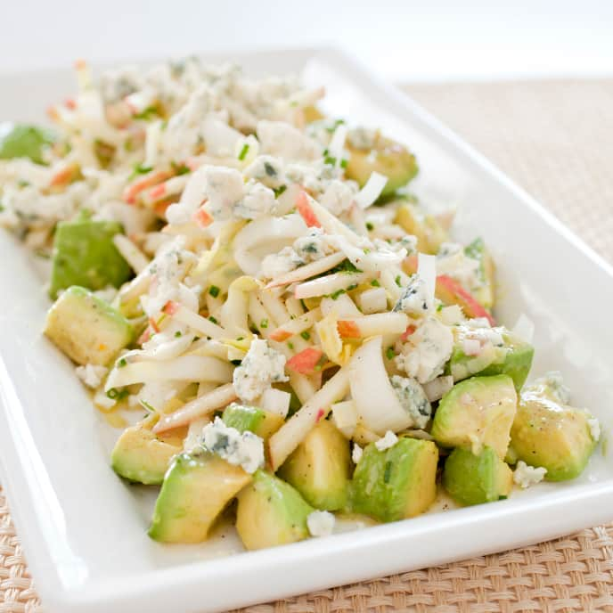 Avocado Salad with Apple and Endive