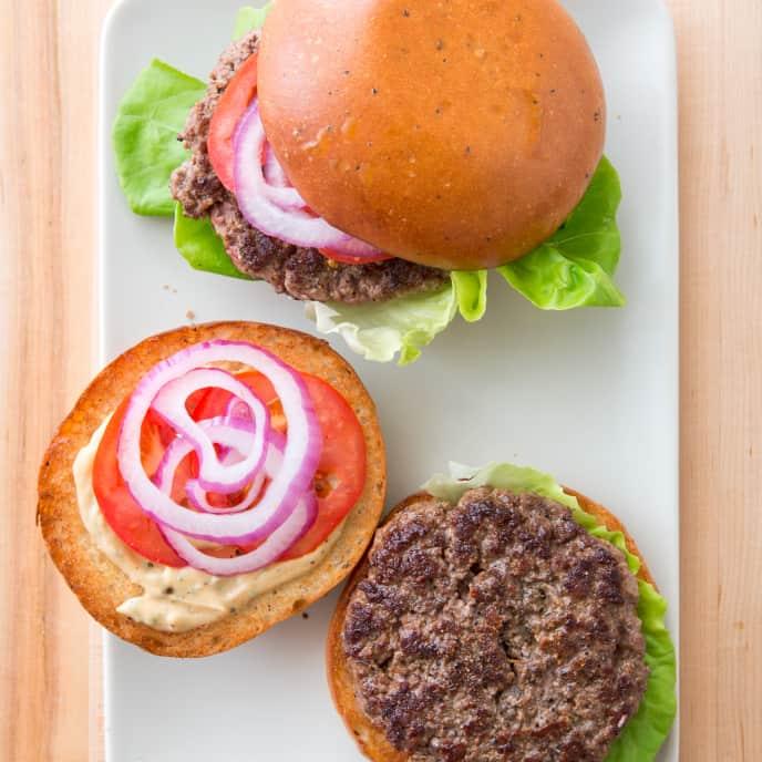 Cast Iron Ultimate Indoor Burgers