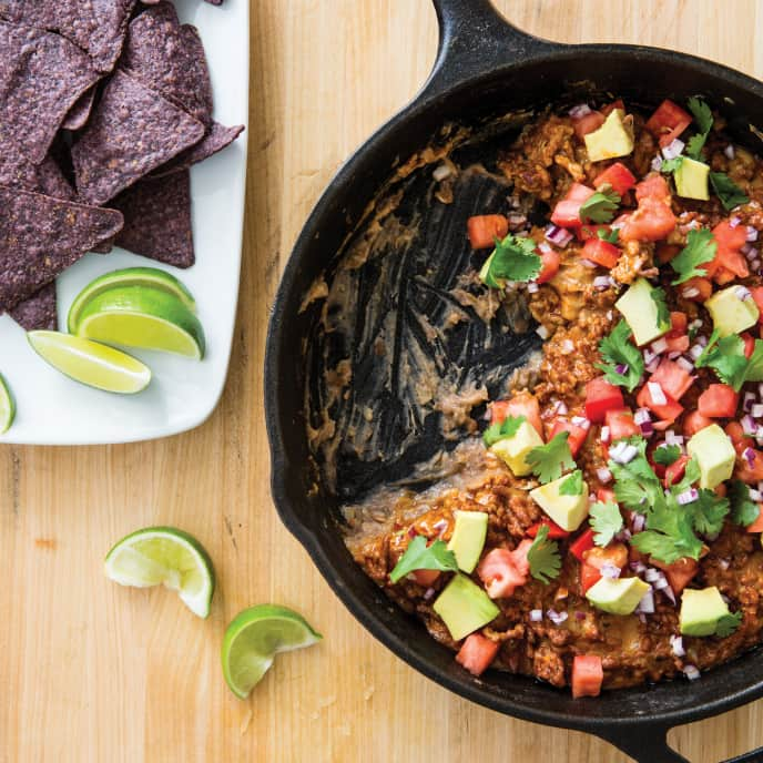 Cast Iron Mexican Layer Dip