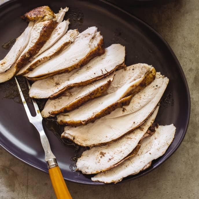 Cast Iron Spice-Rubbed Turkey Breast