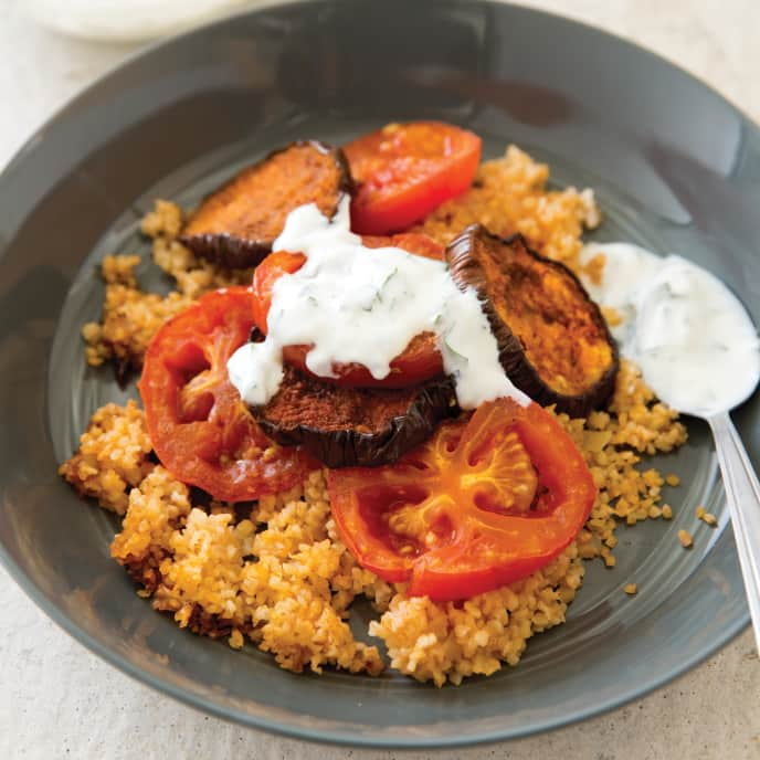 Slow-Cooker Turkish-Style Eggplant Casserole