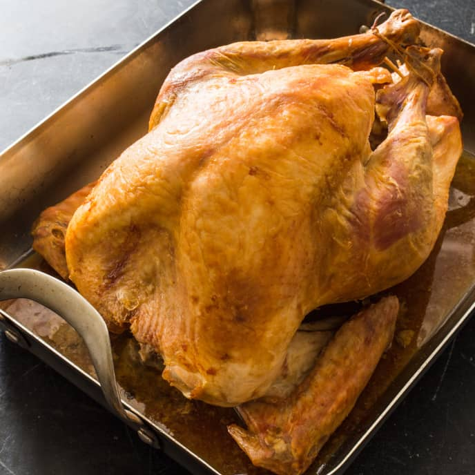 Easier Roast Turkey and Gravy