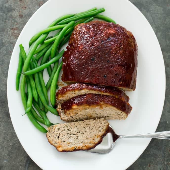 Slow-Cooker Glazed Turkey Meatloaf