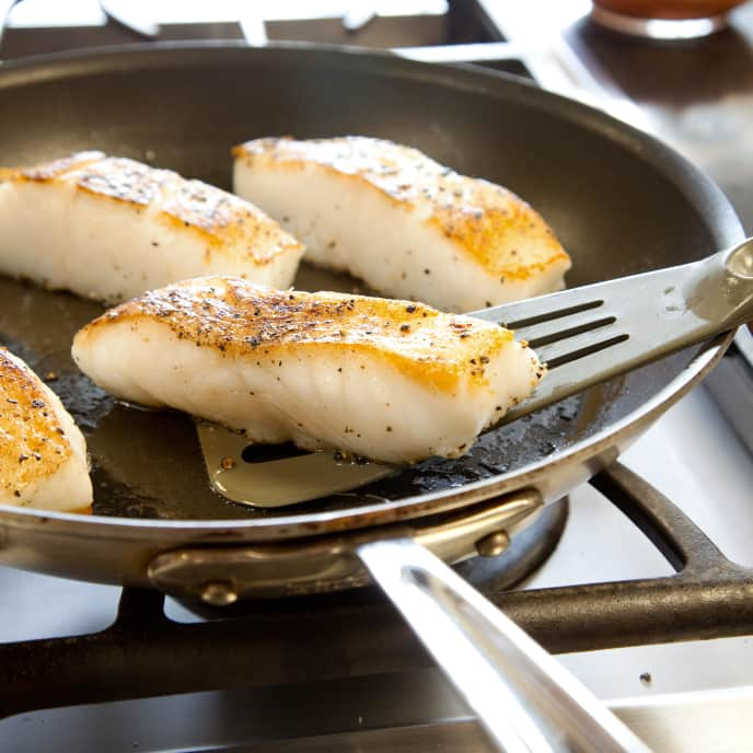 Skillet-Roasted Fish Fillets