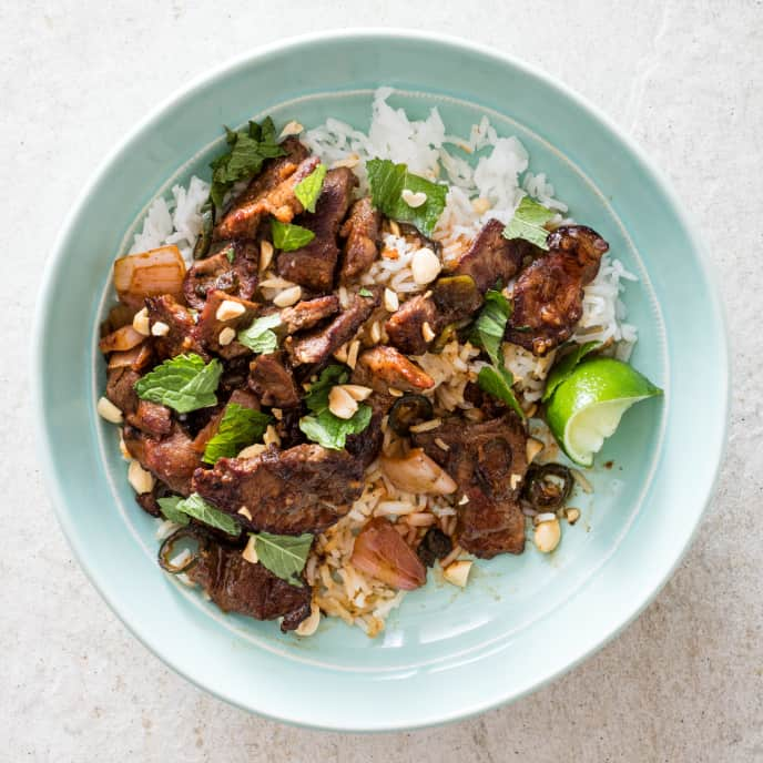 Stir-Fried Thai-Style Beef with Chiles and Shallots