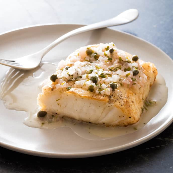 Sautéed White Fish Fillets