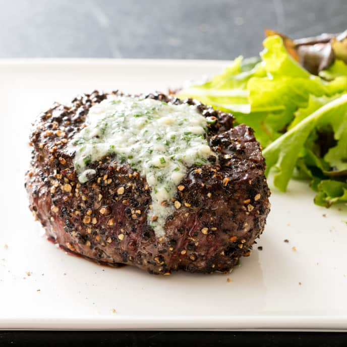 Blue Cheese Chive Butter
