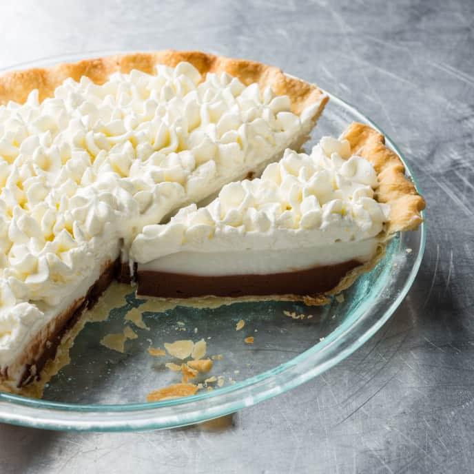 Chocolate Haupia Cream Pie