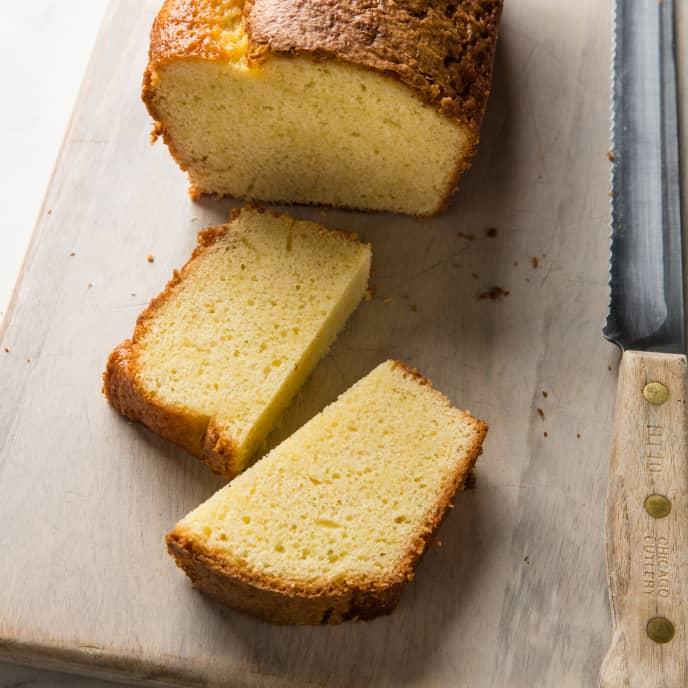 Easy Almond Pound Cake
