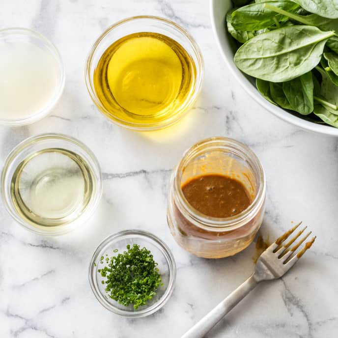 Make-Ahead Lemon-Garlic-Chive Vinaigrette