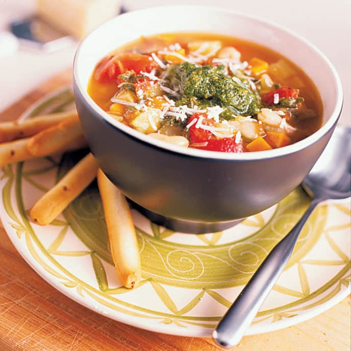 Classic Minestrone with Pancetta