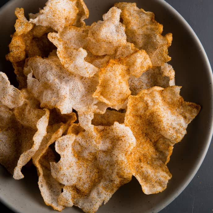 Old Bay Tapioca Chips