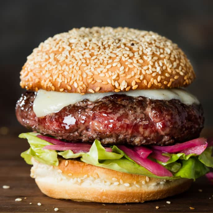 Grass-Fed Half-Pound Burgers