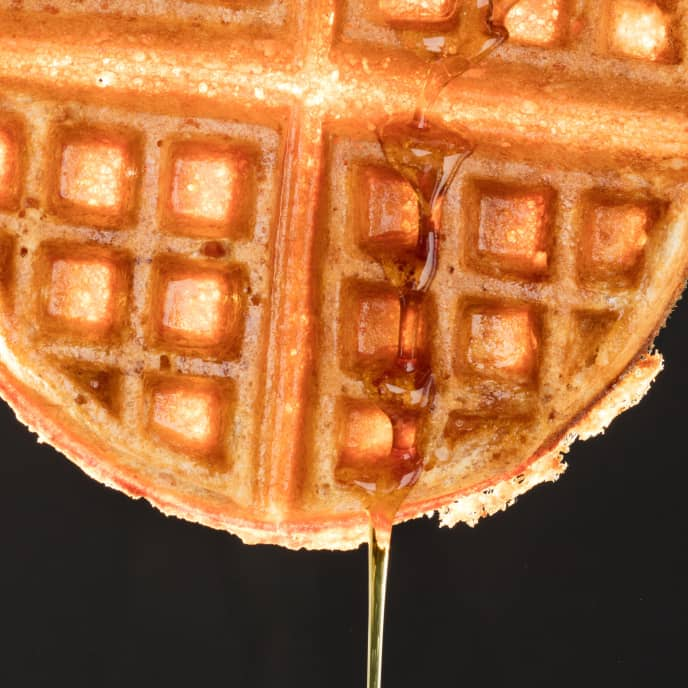 Blender-Milled Whole-Wheat Buttermilk Waffles