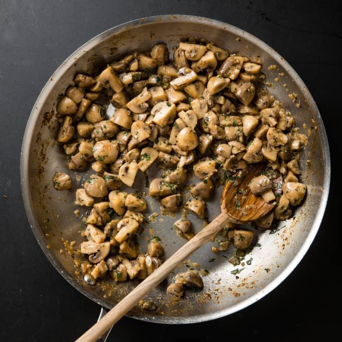 Braised Mushrooms
