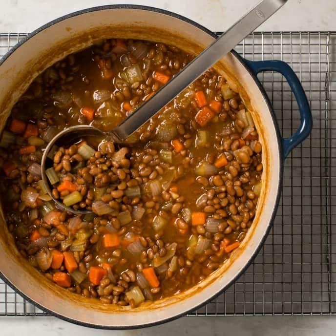 Greek-Style Bean Soup