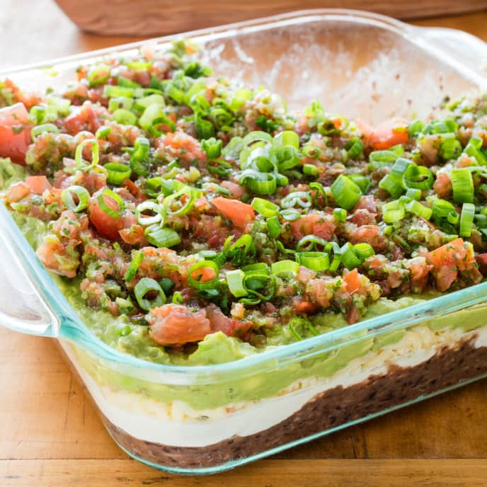 Ultimate Smoky Seven-Layer Dip