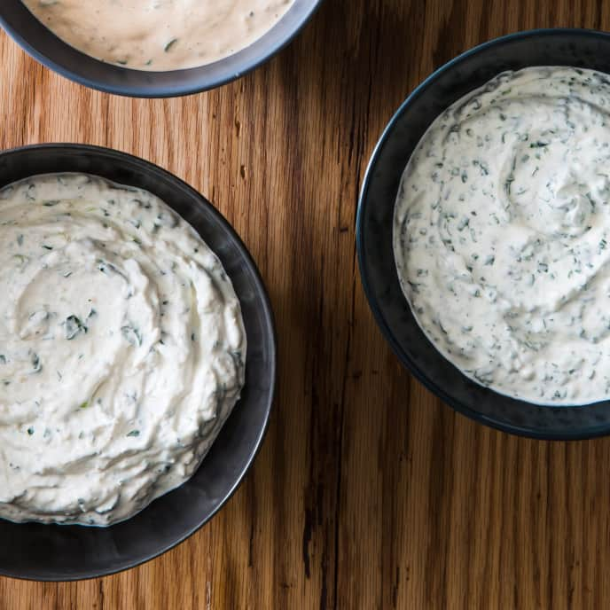 Feta-Mint Dip with Yogurt