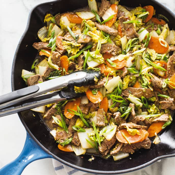 Paleo Spicy Korean-Style Stir-Fried Beef