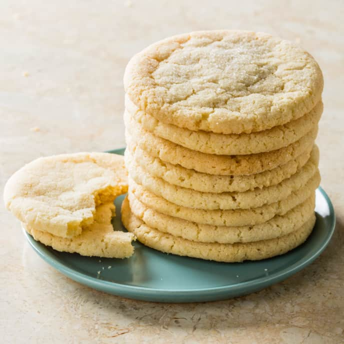 Chewy Chai-Spice Sugar Cookies