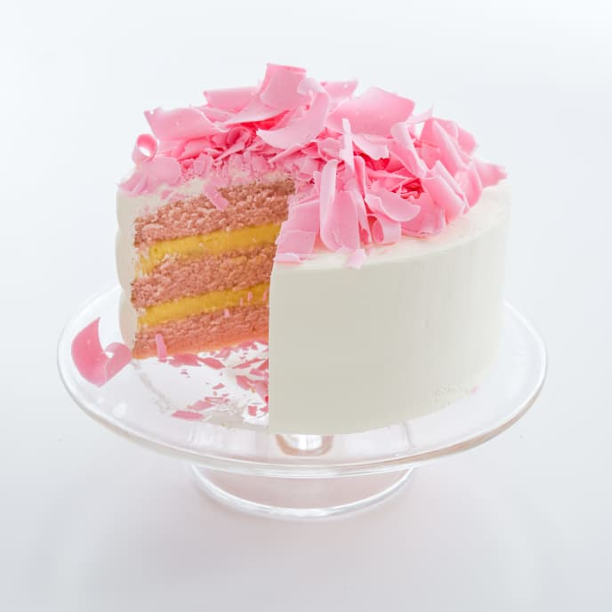 Pink Champagne Cake
