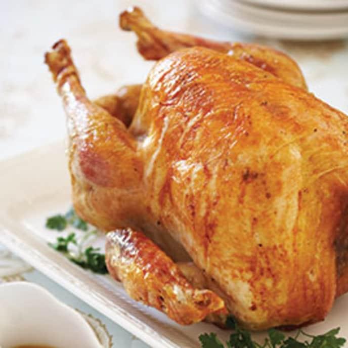 Roast Turkey with Giblet Pan Gravy