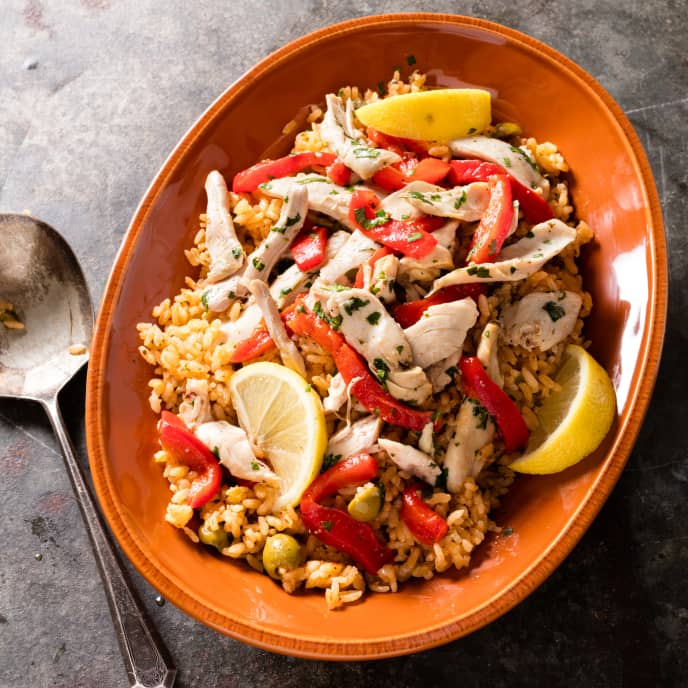 Latin-Style Chicken and Rice (Arroz con Pollo)
