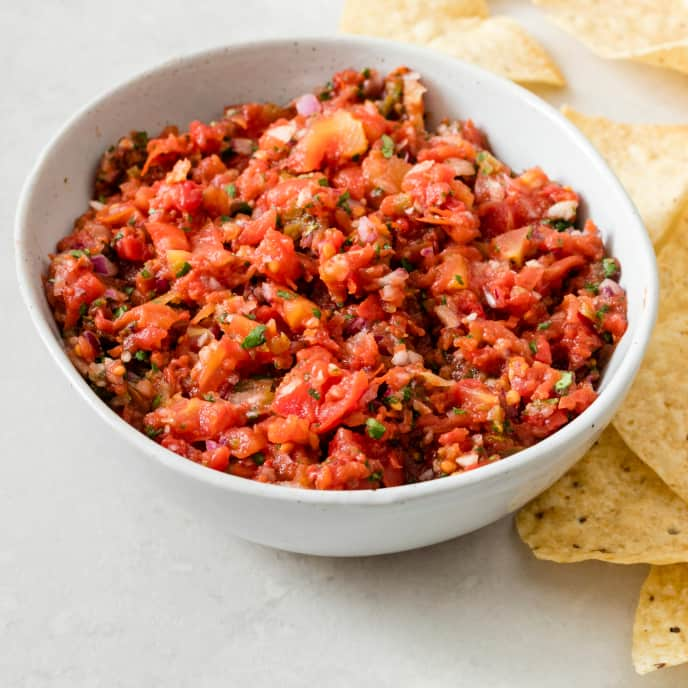 One-Minute Tomato Salsa