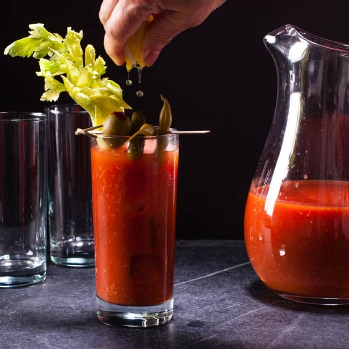 Fresh Horseradish Bloody Mary