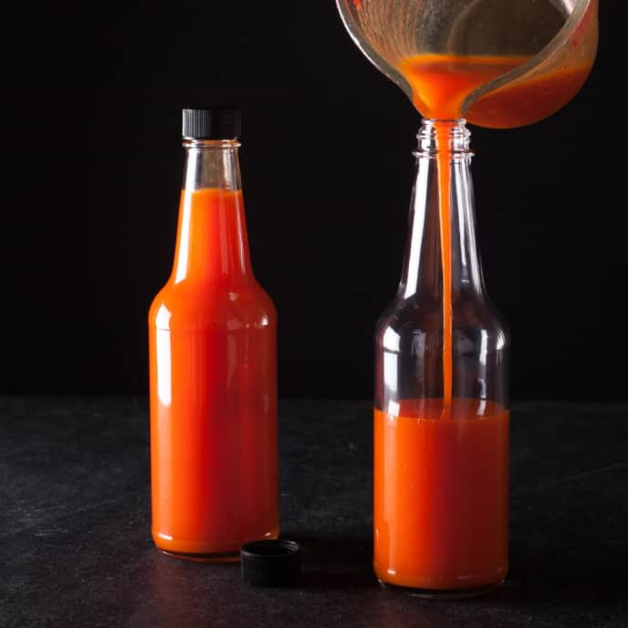 Fresno Chile–Carrot Hot Sauce