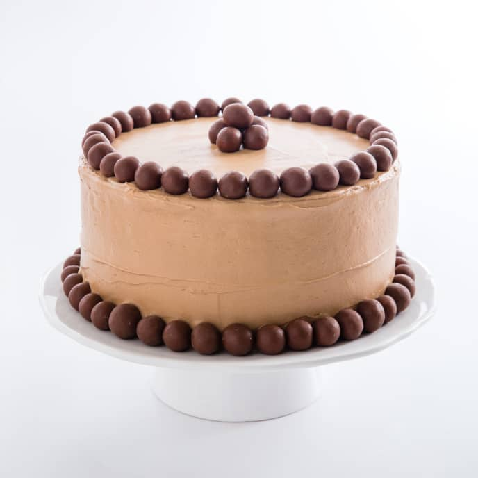 Chocolate Malted Cake