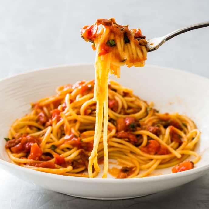 Fresh Tomato Amatriciana Sauce