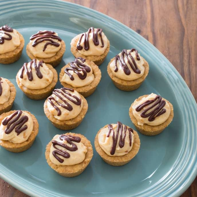 Fudgy Peanut Butter Mousse Cups