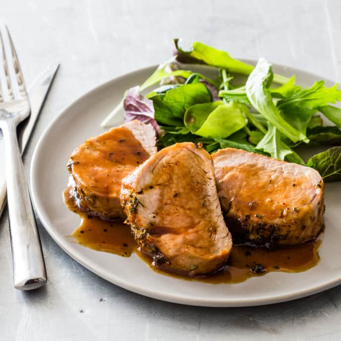 Brown Sugar-Orange Pork Tenderloin