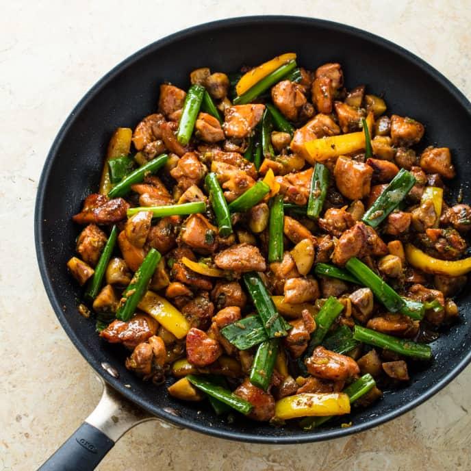 Stir-Fried Chicken and Chestnuts