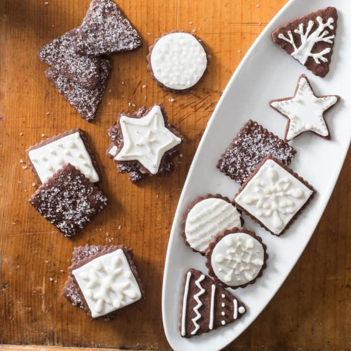 Easy Holiday Cocoa Sugar Cookies
