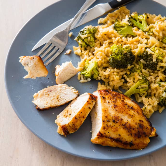 One-Pot Chicken with Broccoli and Rice