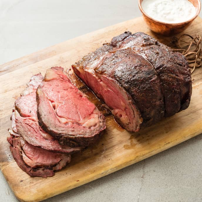 Grill-Roasted Prime Rib For Gas Grill