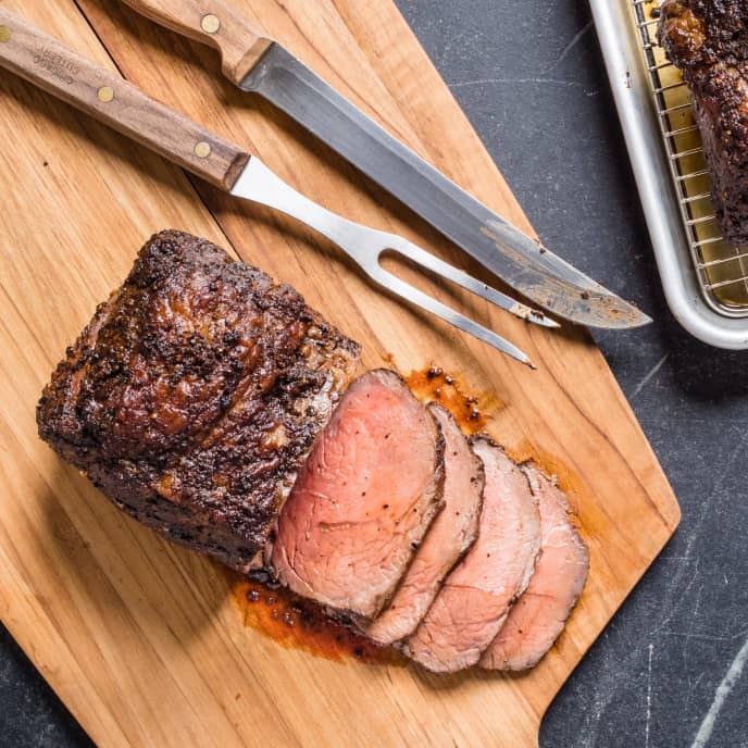 Coffee-Chipotle Top Sirloin Roast
