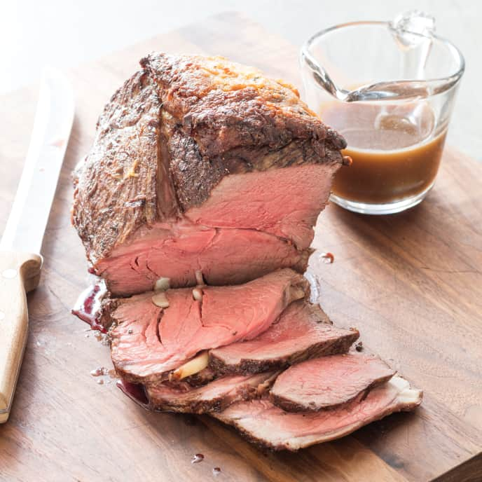 Sunday-Best Garlic Roast Beef