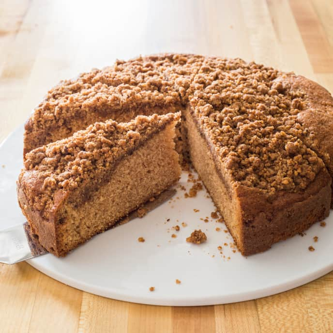 Coffee Cake with Pecan-Cinnamon Streusel