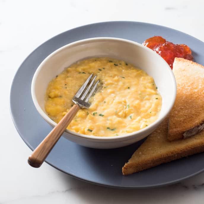Creamy French-Style Scrambled Eggs