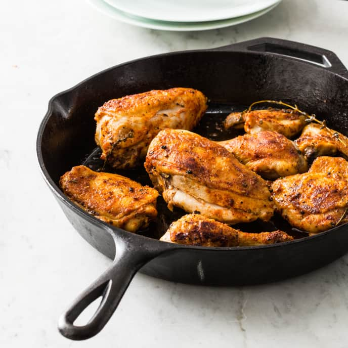 Cast Iron Baked Chicken
