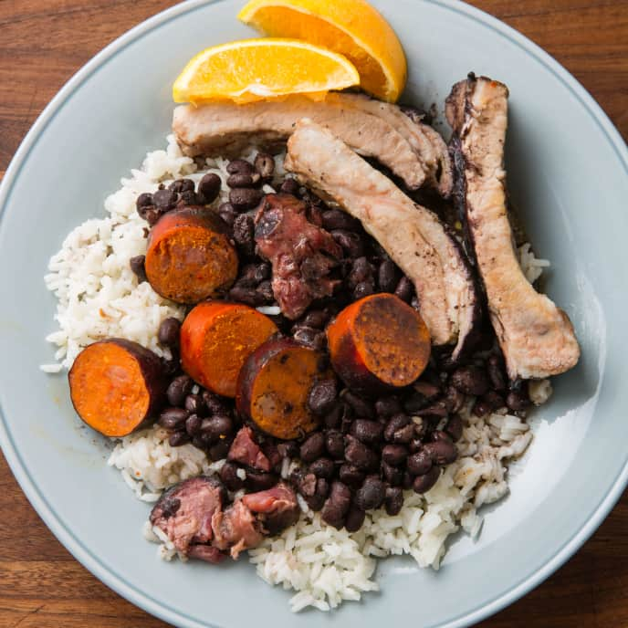 Slow-Cooker Brazilian Black Bean and Pork Stew