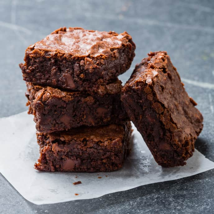 Easy Chocolate Chunk Brownies