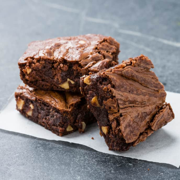 Easy Nutella-Hazelnut Brownies