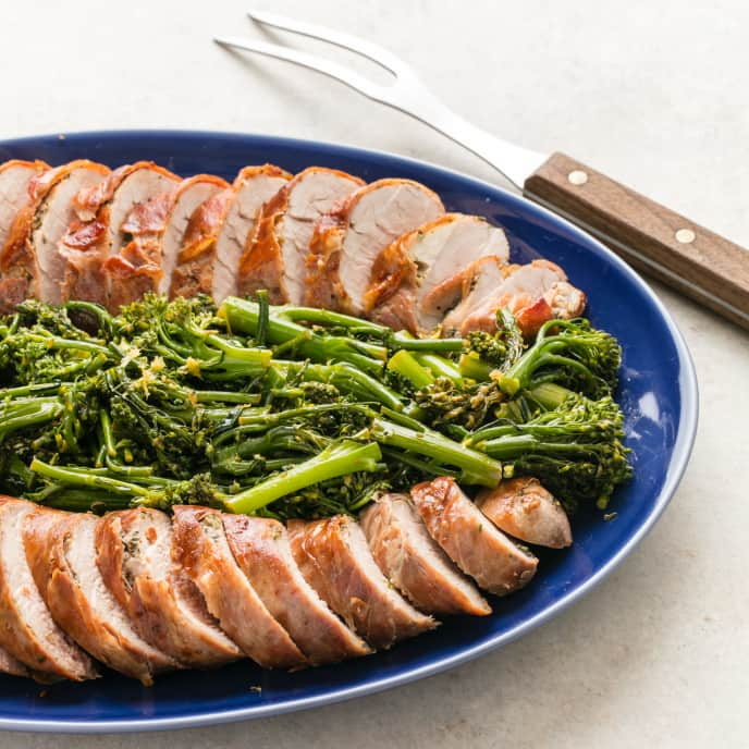 Weeknight Porchetta with Lemony Broccolini