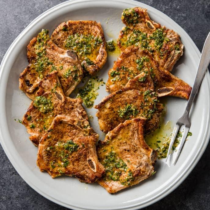 Citrus-and-Spice Pork Chops