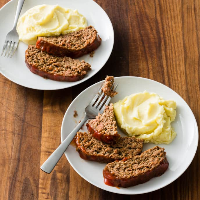 Glazed Meatloaf for Two