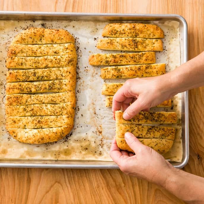Garlic and Herb Breadsticks